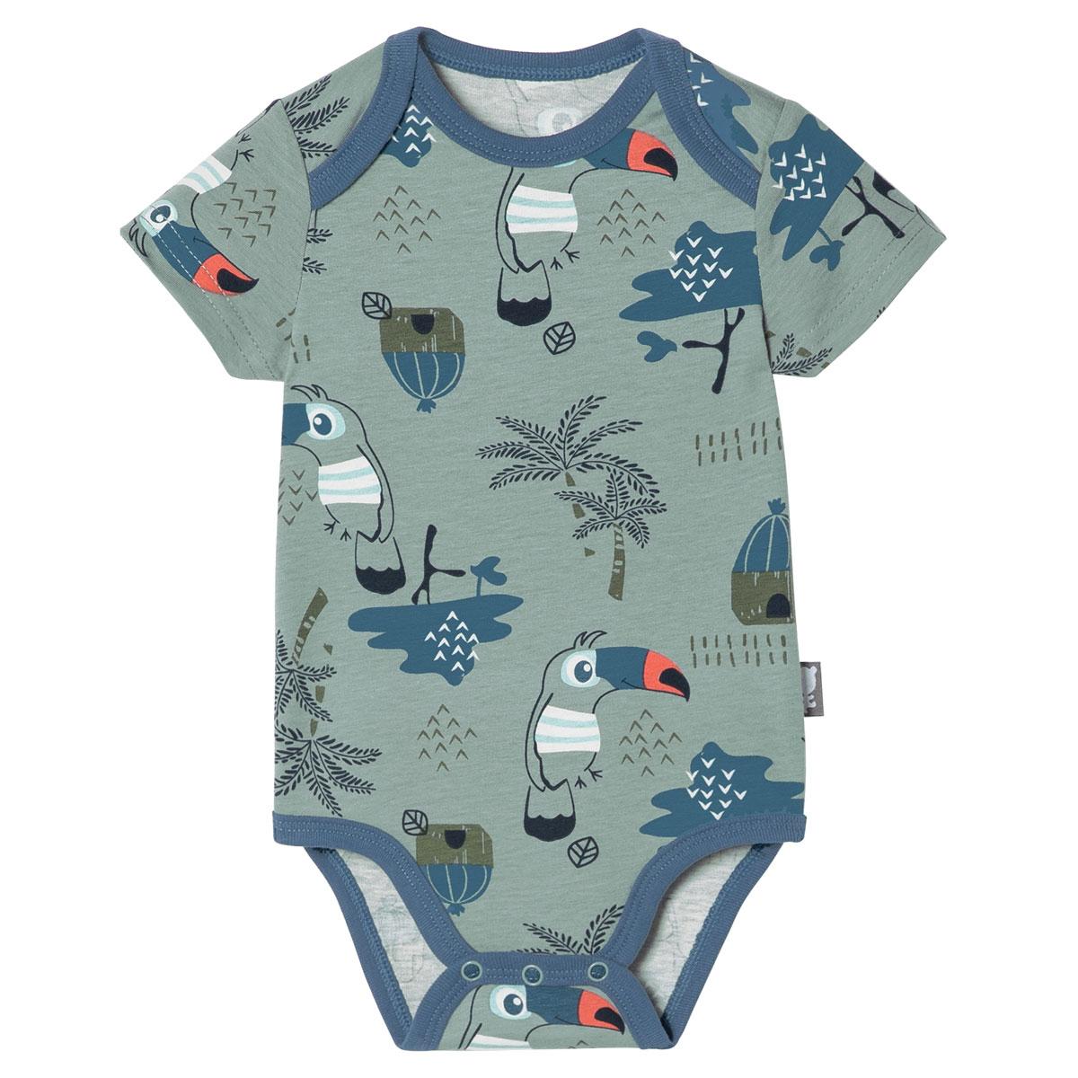 Lot de 2 bodies bébé garçon débardeurs bébé Bora Bora 1