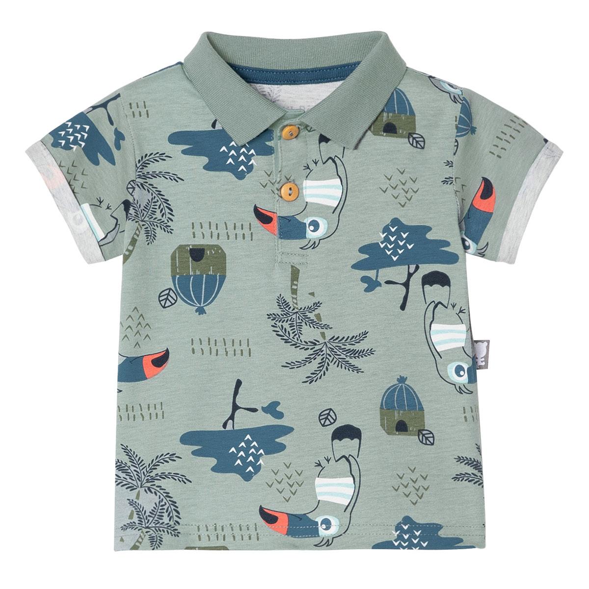 Ensemble bébé garçon chemise + pantalon Bora Bora haut