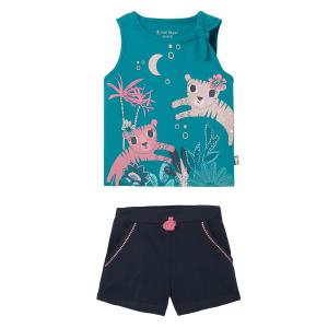 Pyjama fille Bleu Benghal