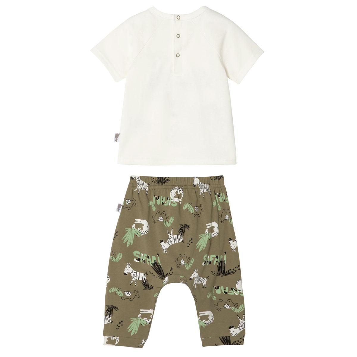 Ensemble bébé garçon t-shirt + sarouel Nerobi dos