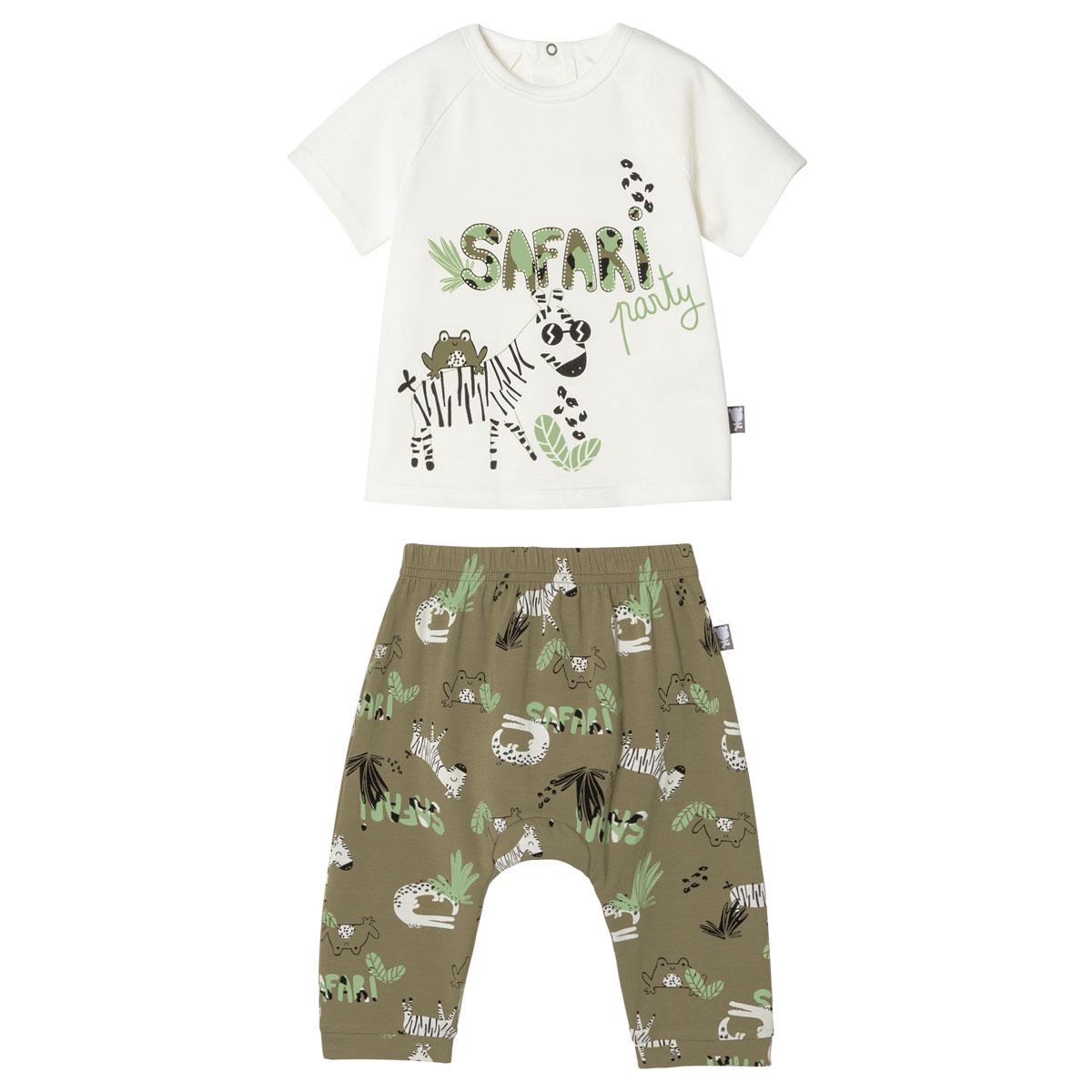 Ensemble bébé garçon t-shirt + sarouel Nerobi