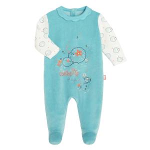 Pyjama bébé velours Frimousse