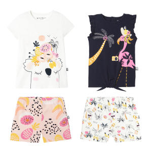 Lot de 2 pyjamas fille Miss Koko