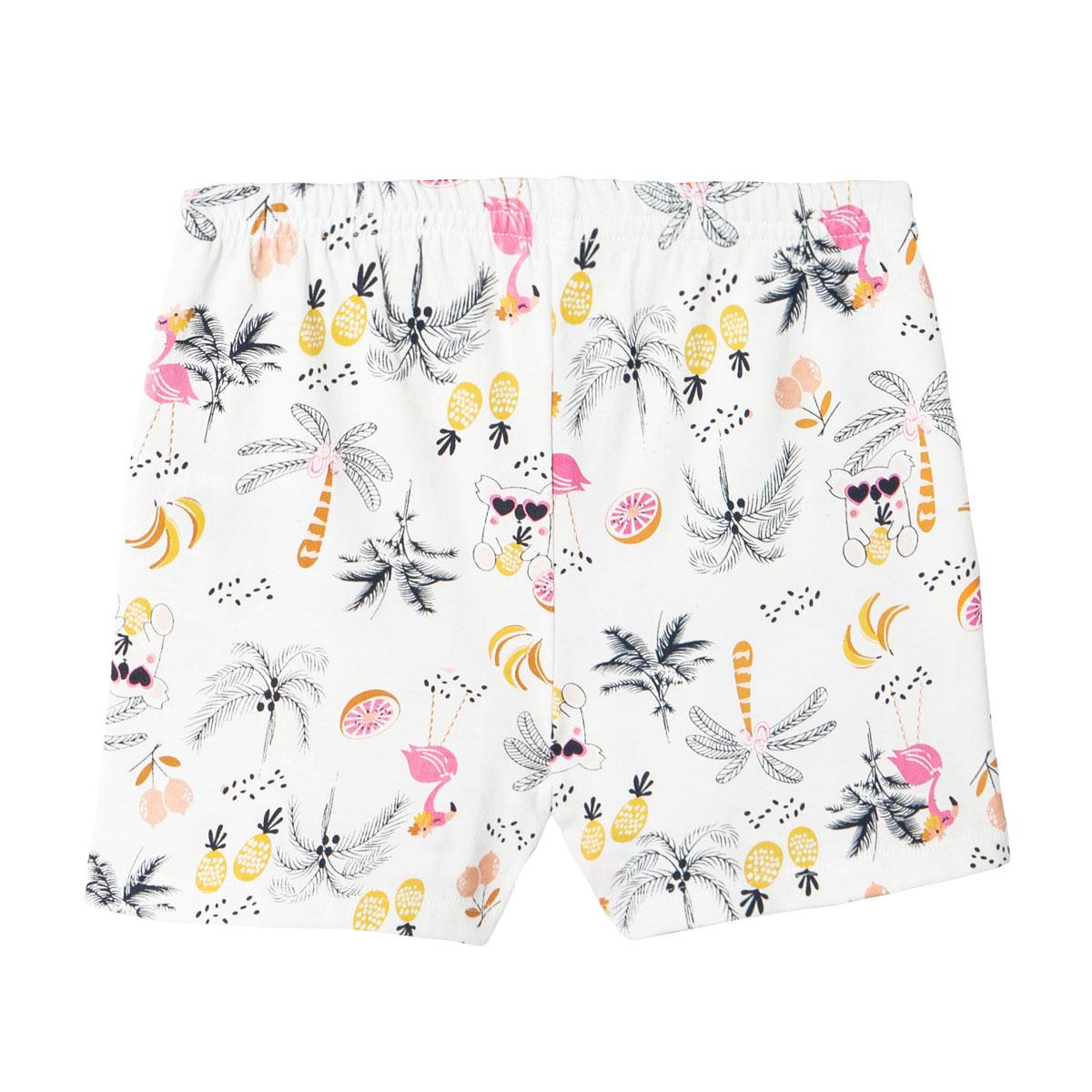 Pyjama fille sans manches marine Miss Koko bas
