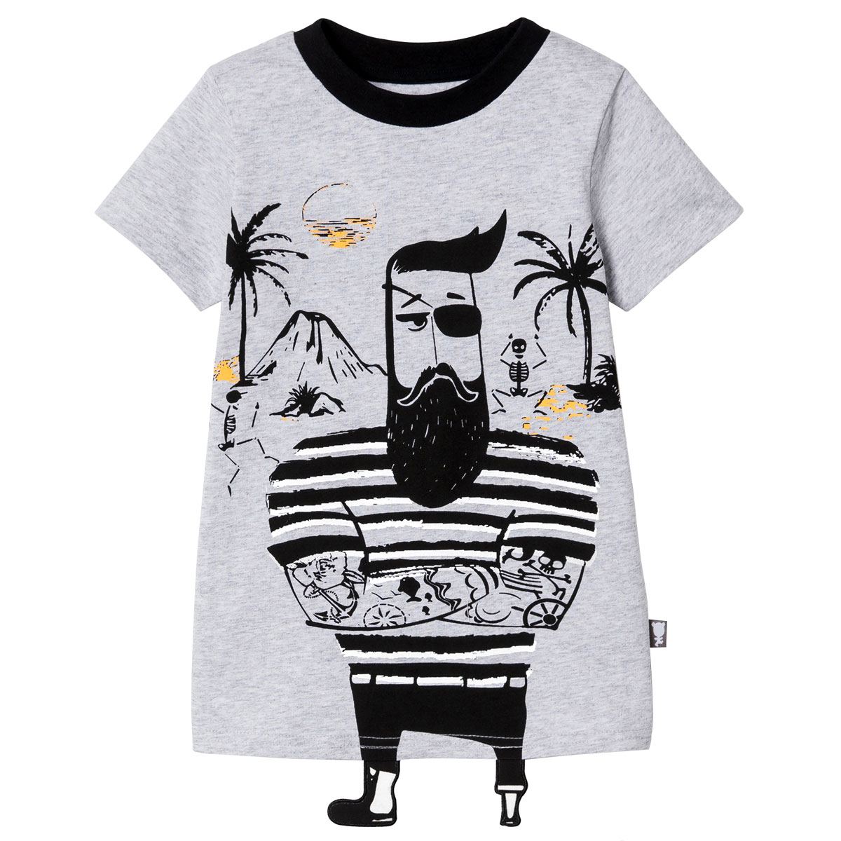 pyjama-t-shirt-short-2-pieces-enfant-garcon-explorateur-haut