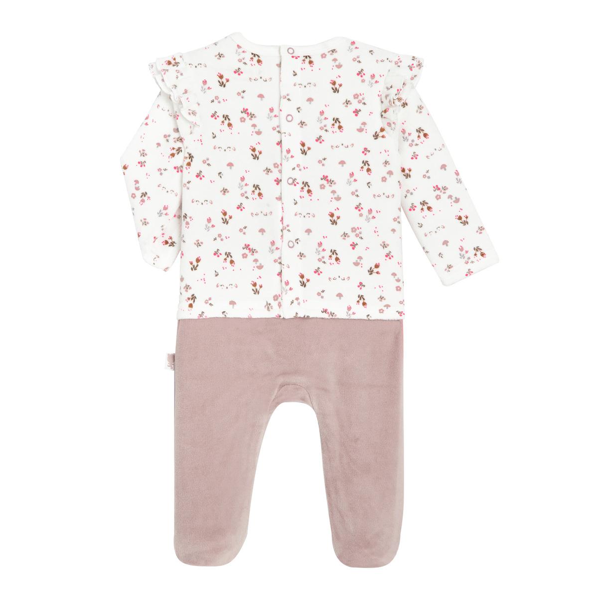 Pyjama bébé velours Lovely Baby dos