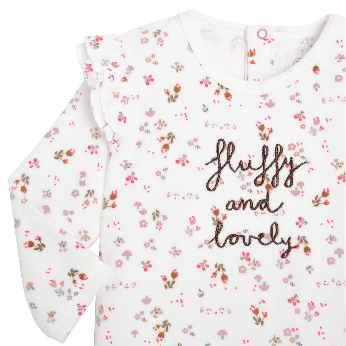 Pyjama bébé velours Lovely Baby zoom