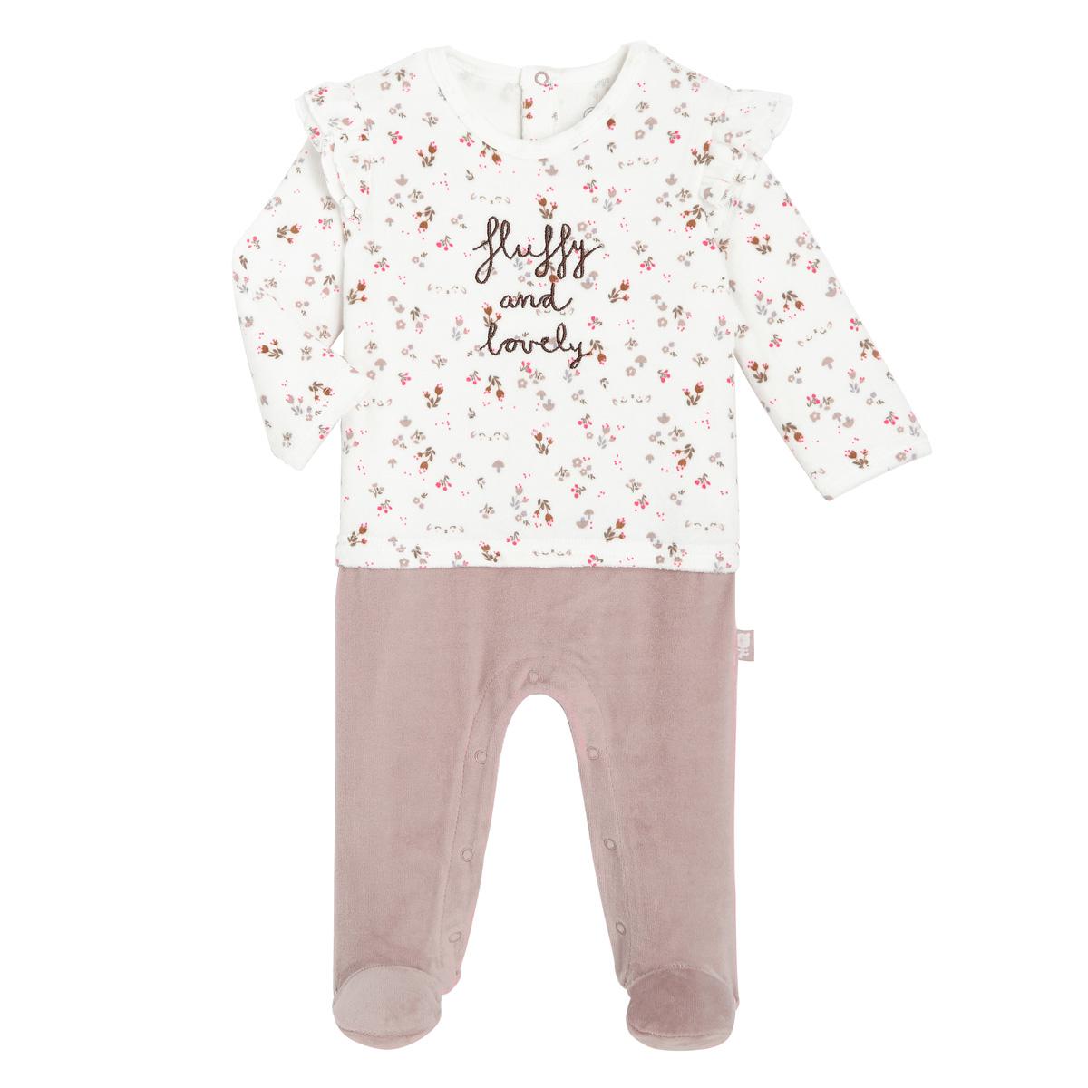 Pyjama bébé velours Lovely Baby