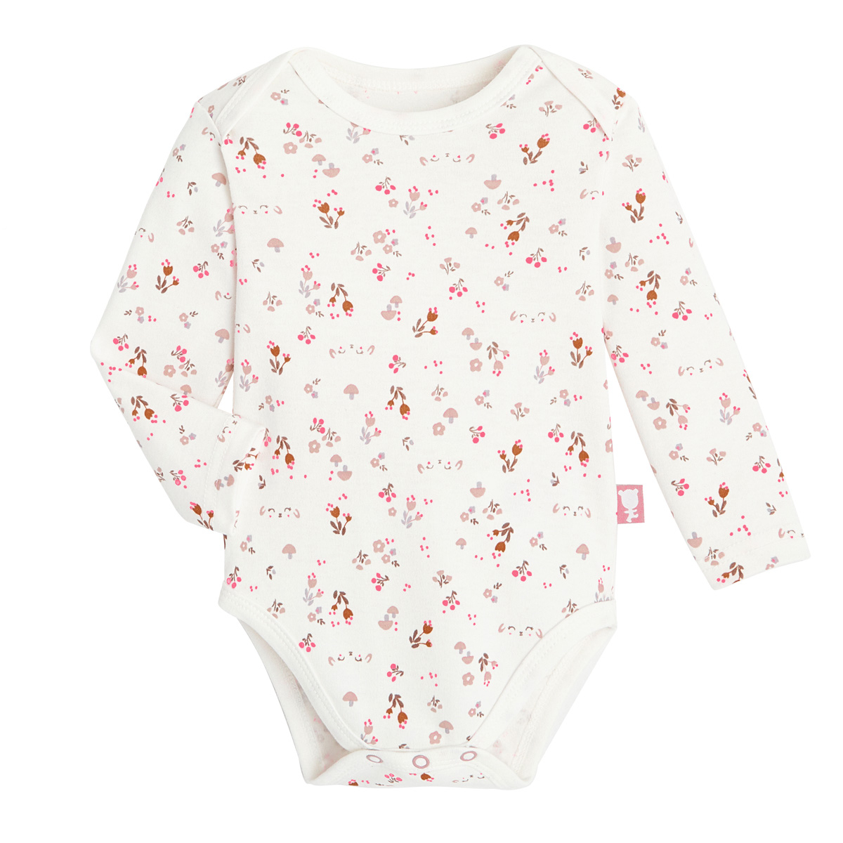Lot de 2 bodies bébé fille manches longues Lovely Baby 2