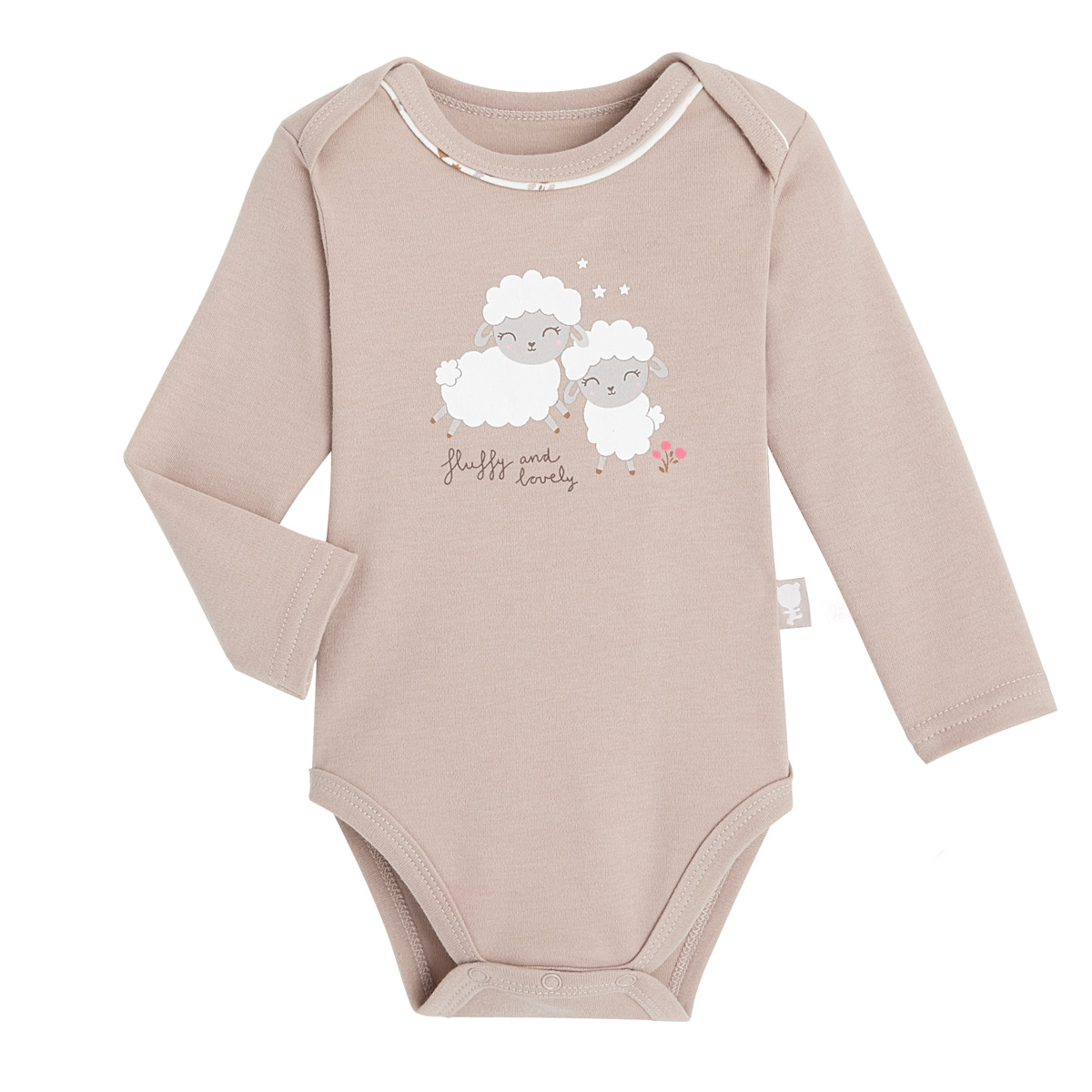 Lot de 2 bodies bébé fille manches longues Lovely Baby 1