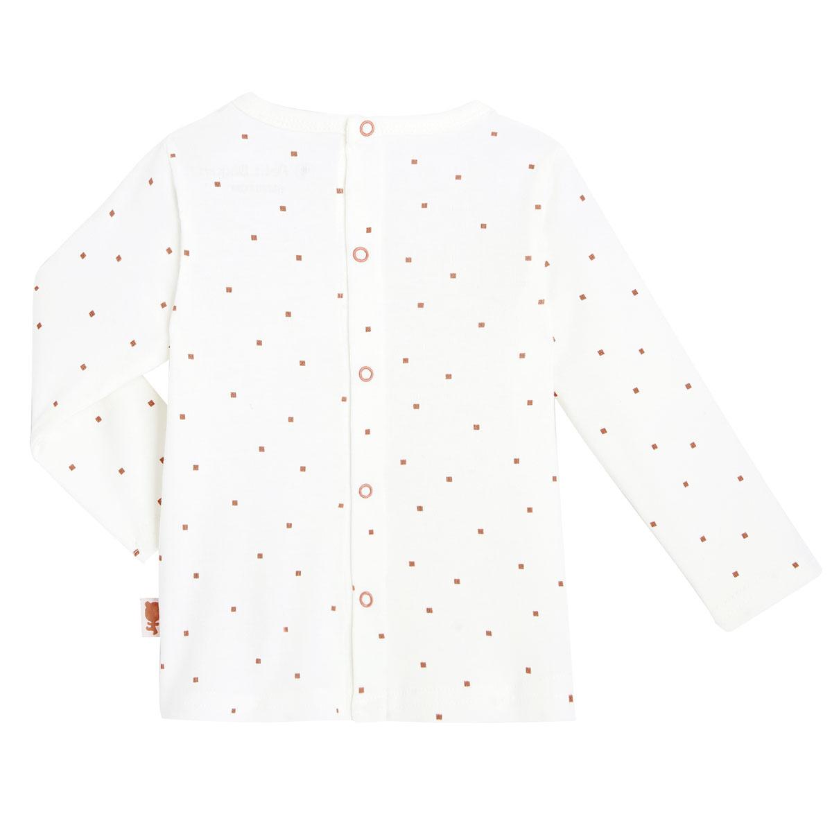 Salopette + T-shirt coton bébé mixte Forever haut dos