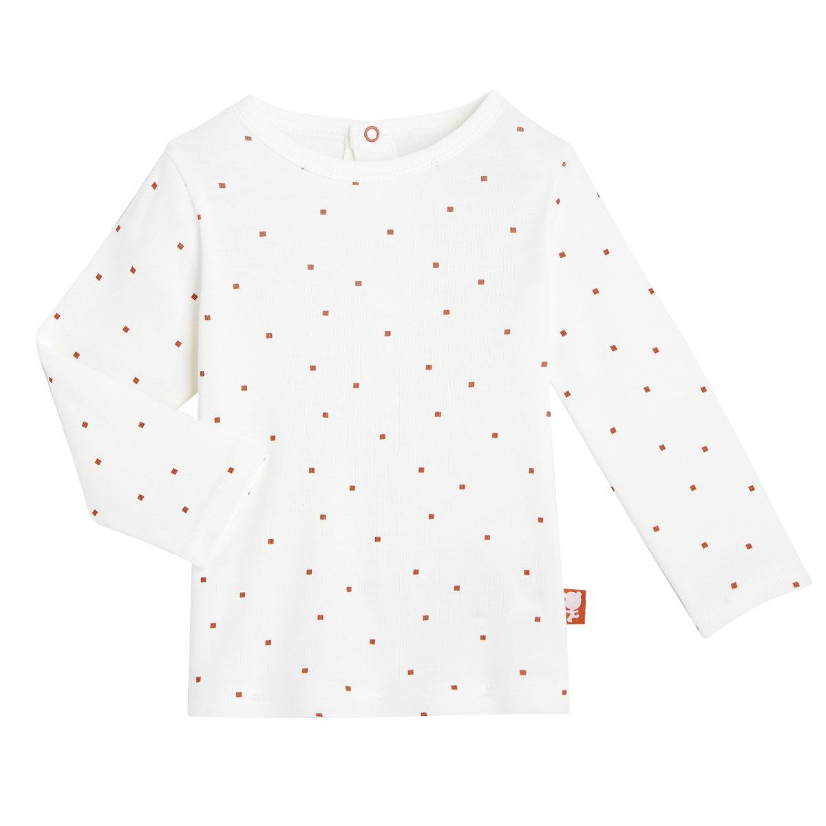 Salopette + T-shirt coton bébé mixte Forever haut