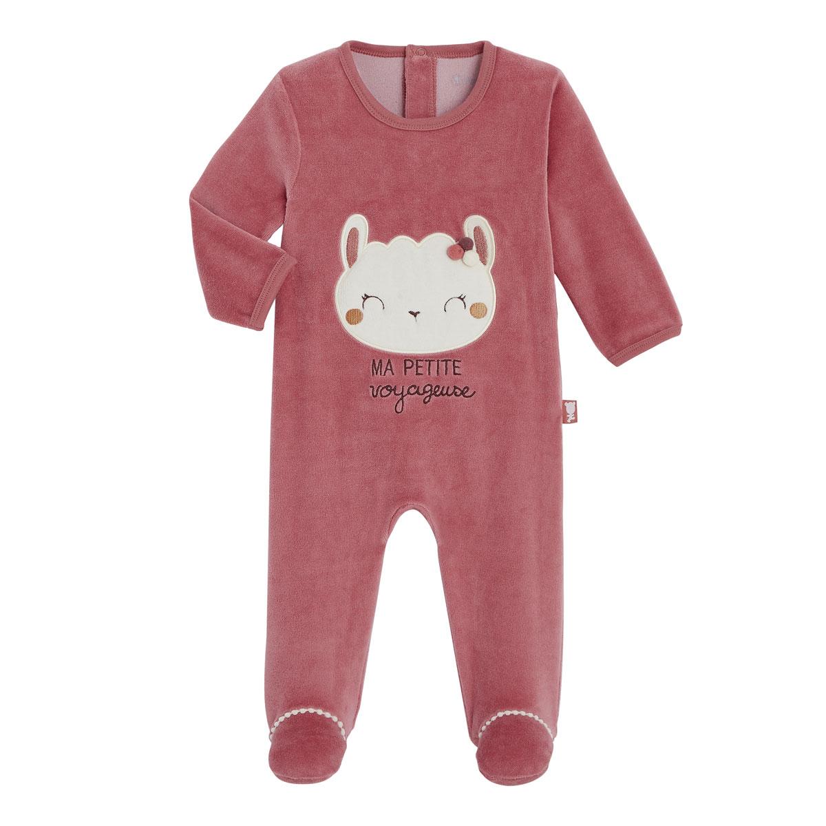 Pyjama bébé velours Zhao