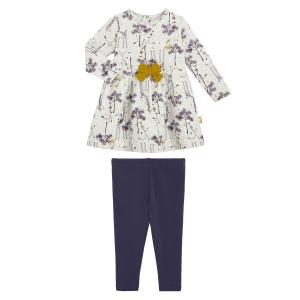 Pyjama bébé en velours contenant du coton bio Loupfoque
