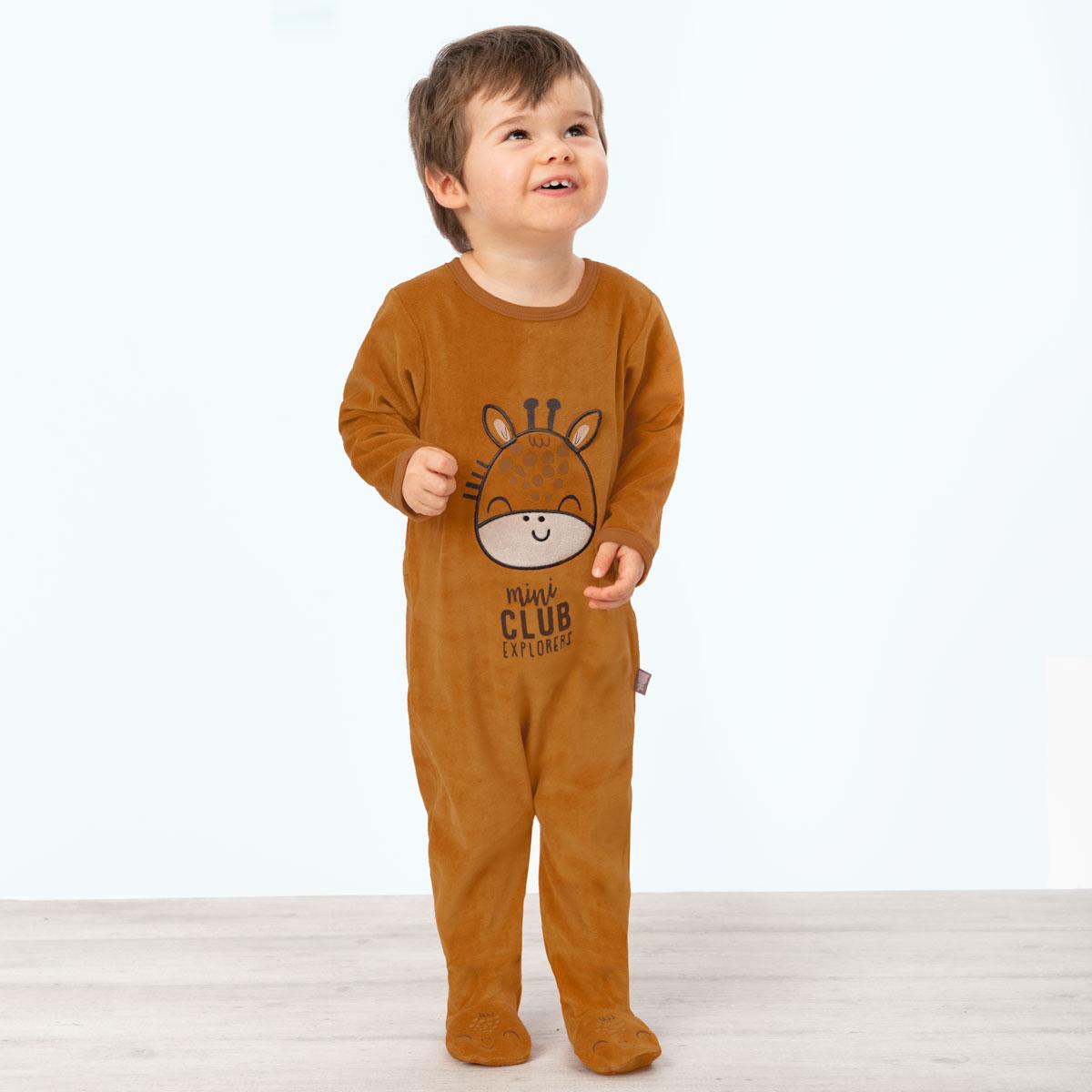 Pyjama bébé velours Baby Club
