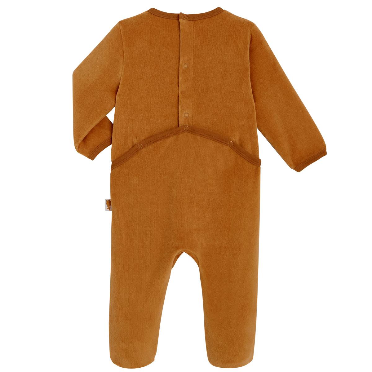 Pyjama bébé velours Baby Club dos