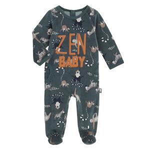 Pyjama bébé en velours Baby Zen