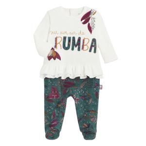 Pyjama bébé en velours Kapiri