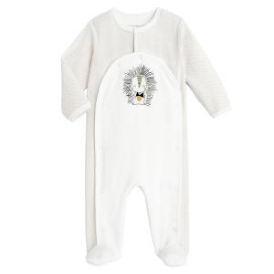 Pyjama bébé mixte en velours contenant du coton bio Shuiro
