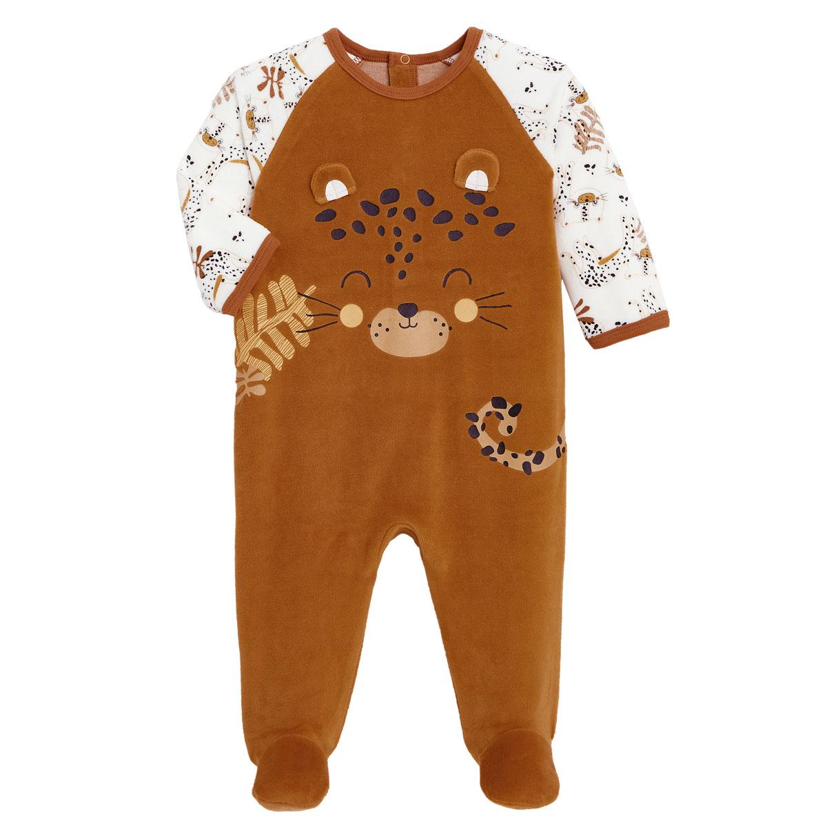 Pyjama bébé en velours Benghali