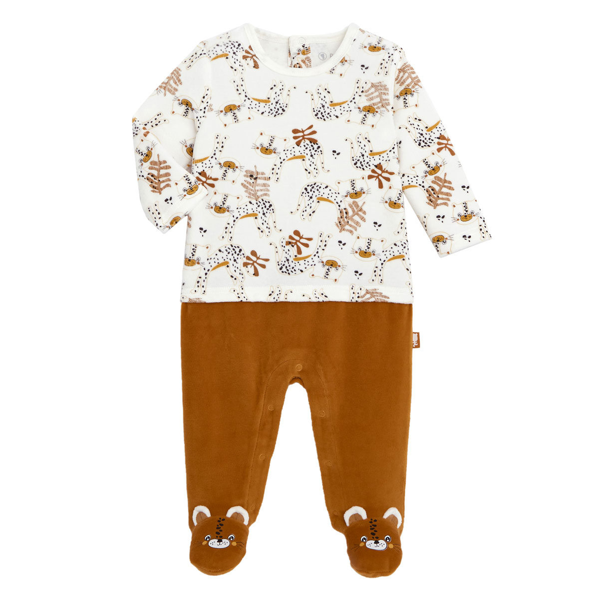 Pyjama bébé velours Benghali