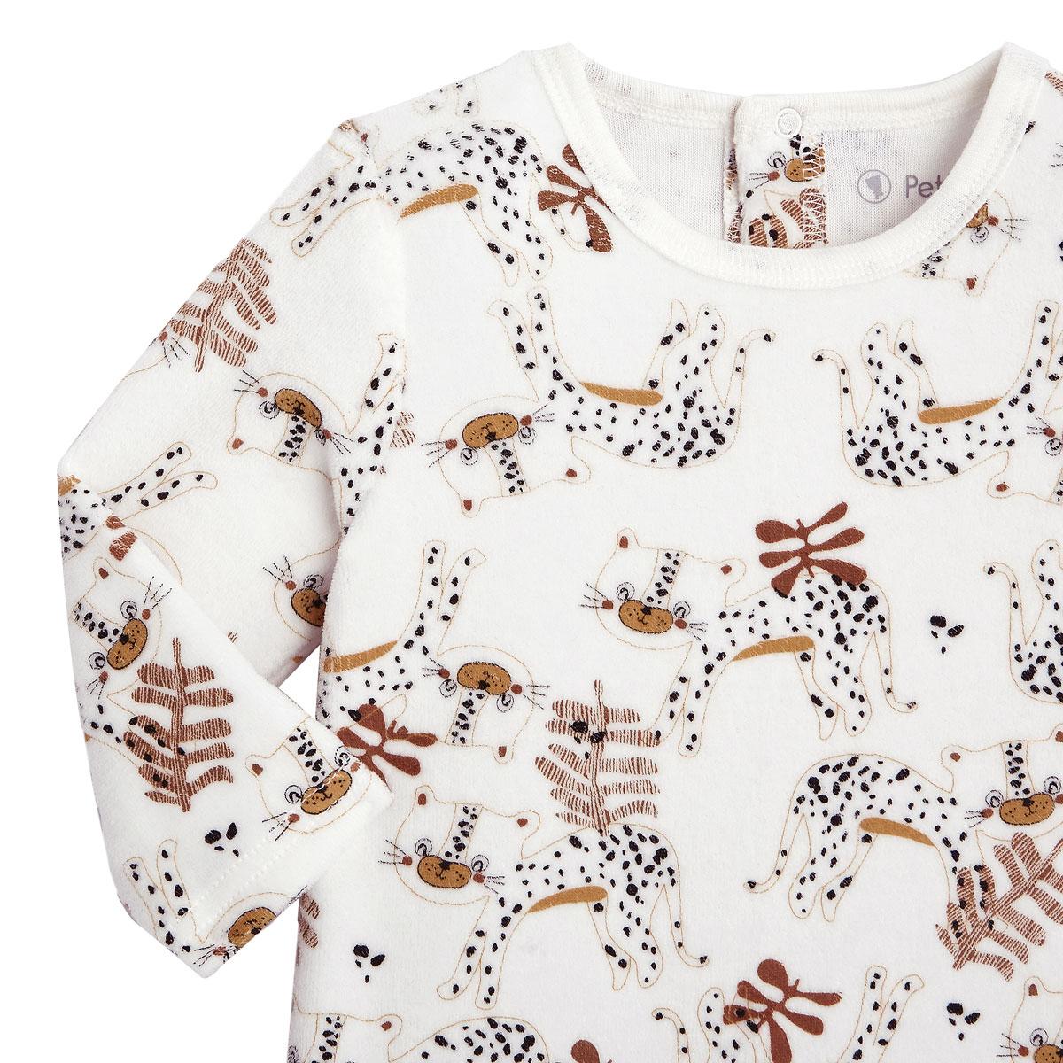 Pyjama bébé velours Benghali zoom