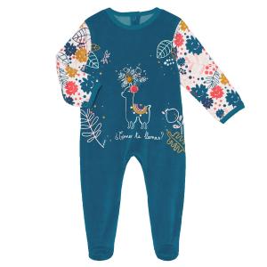 Pyjama bébé velours Lamapampa