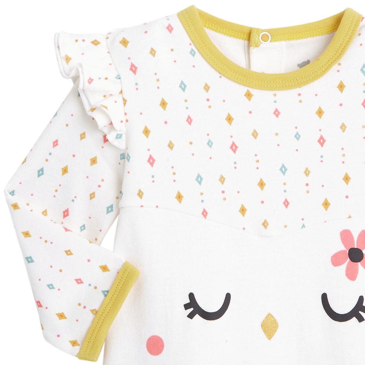 Pyjama bébé Frida zoom