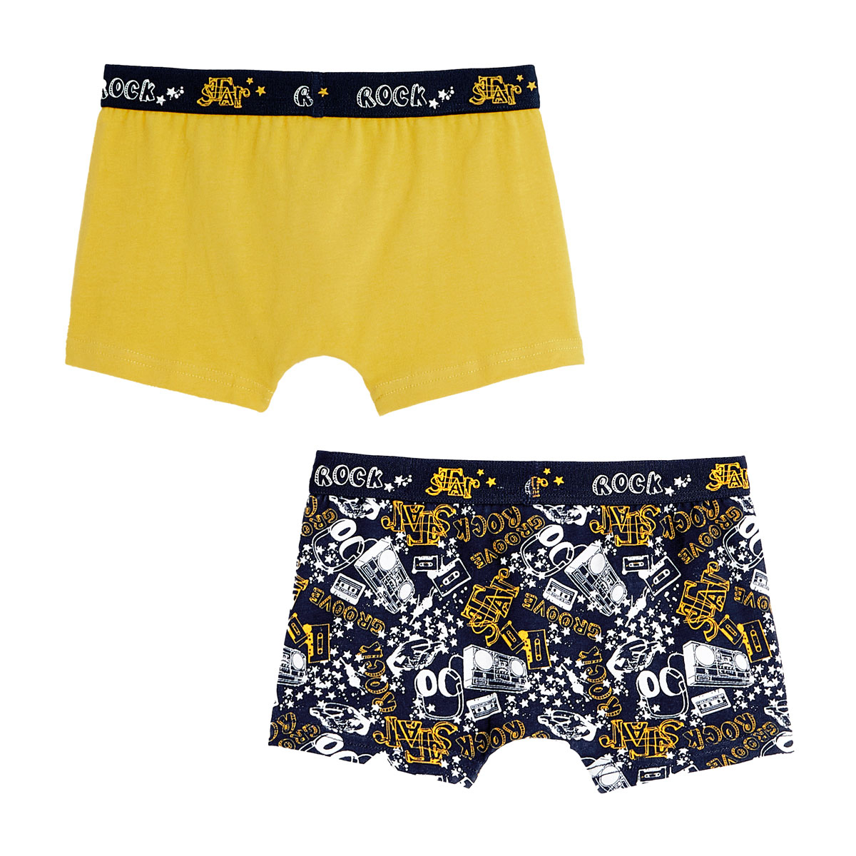 Lot de 2 boxers garçon Star Rock dos