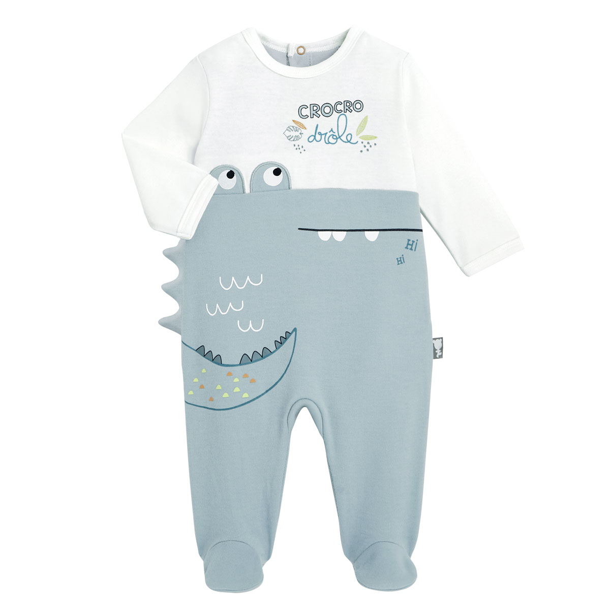 Pyjama bébé Croco Jungle