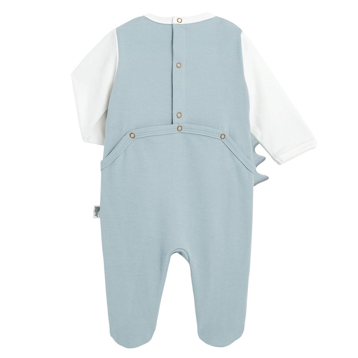 Pyjama bébé Croco Jungle dos