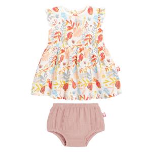 Robe fille et culotte Tropic