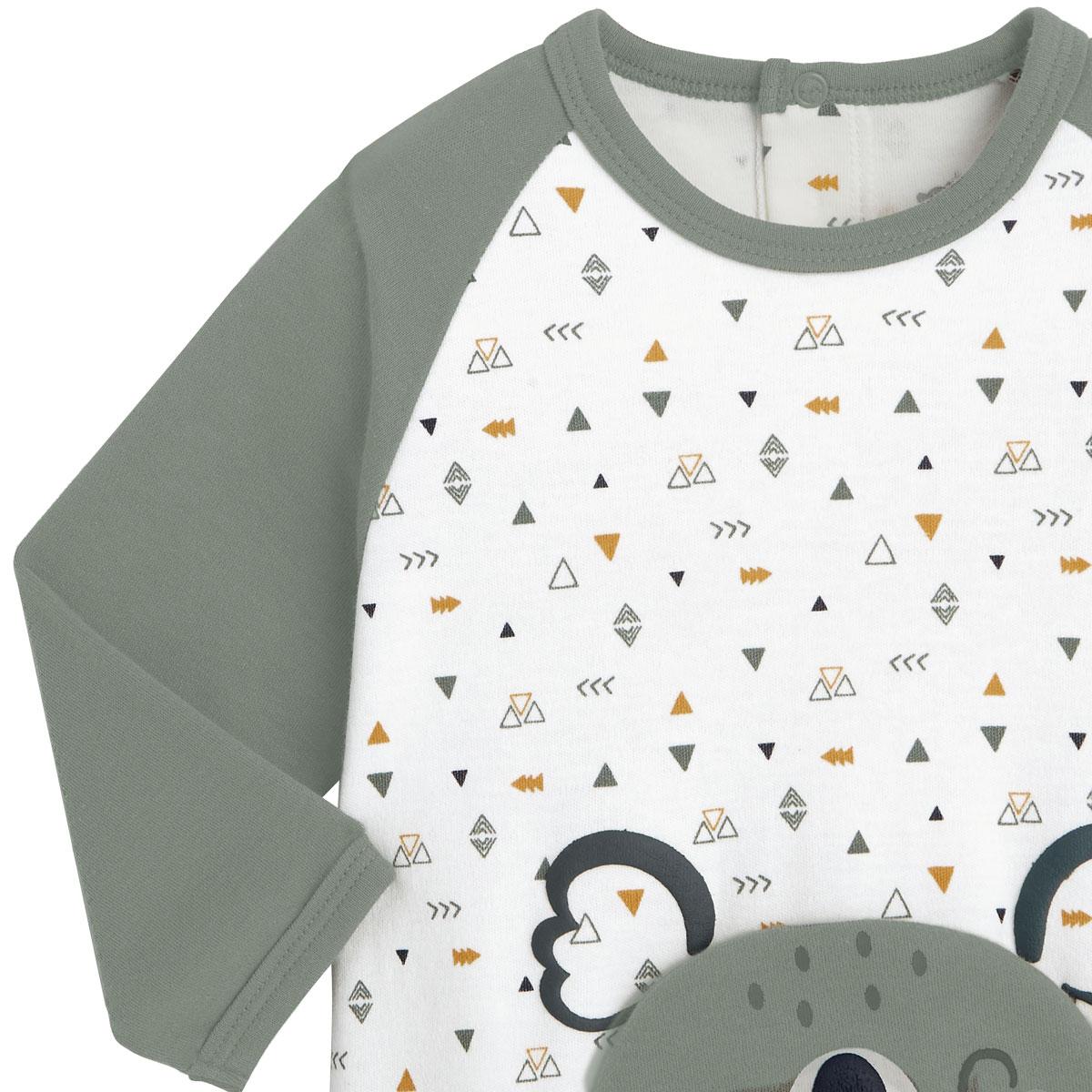 Pyjama bébé Petit Safari zoom