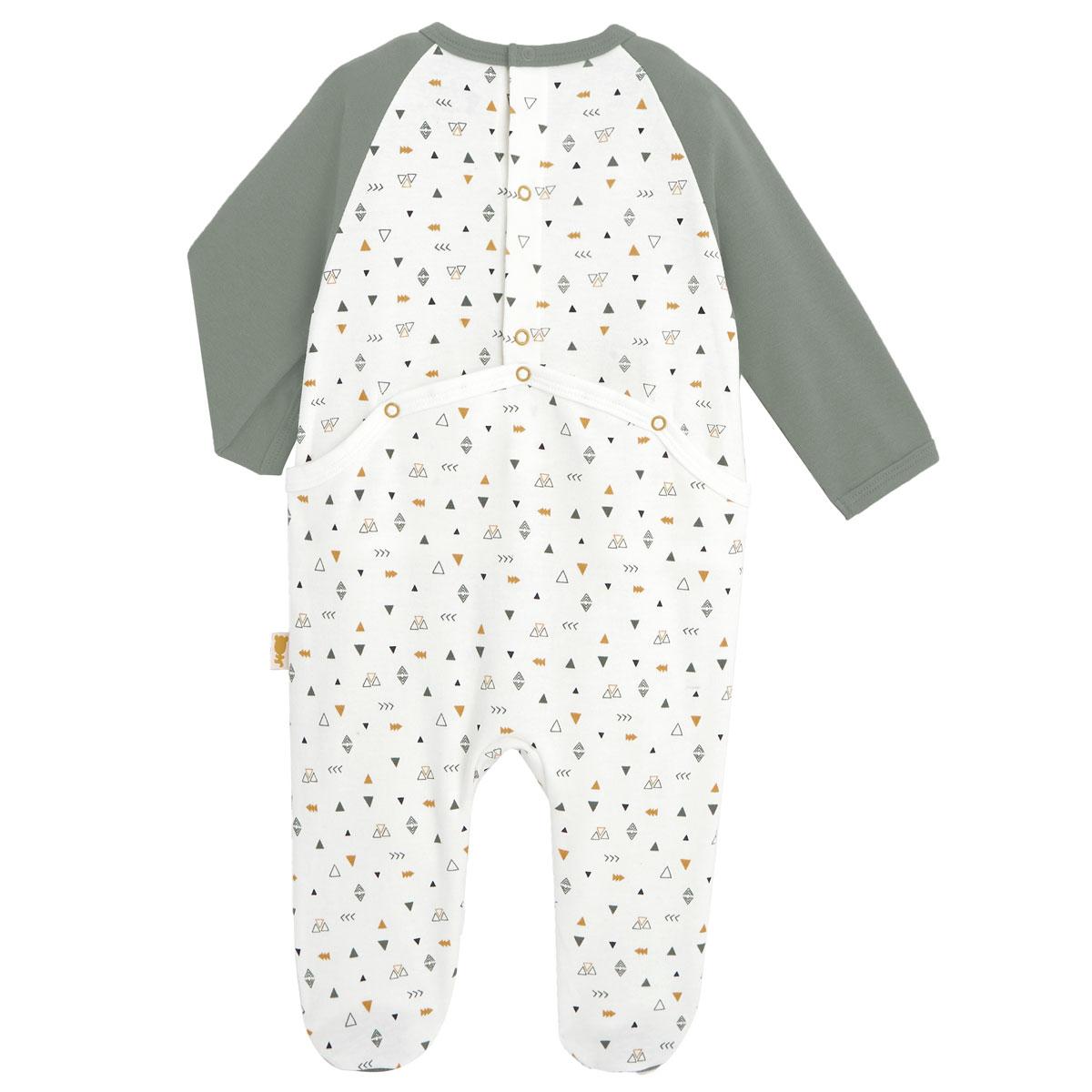 Pyjama bébé Petit Safari dos