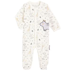 Pyjama naissance contenant du coton bio Sous le soleil