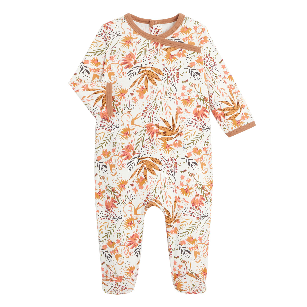 Pyjama bébé contenant du coton bio Copa Banana