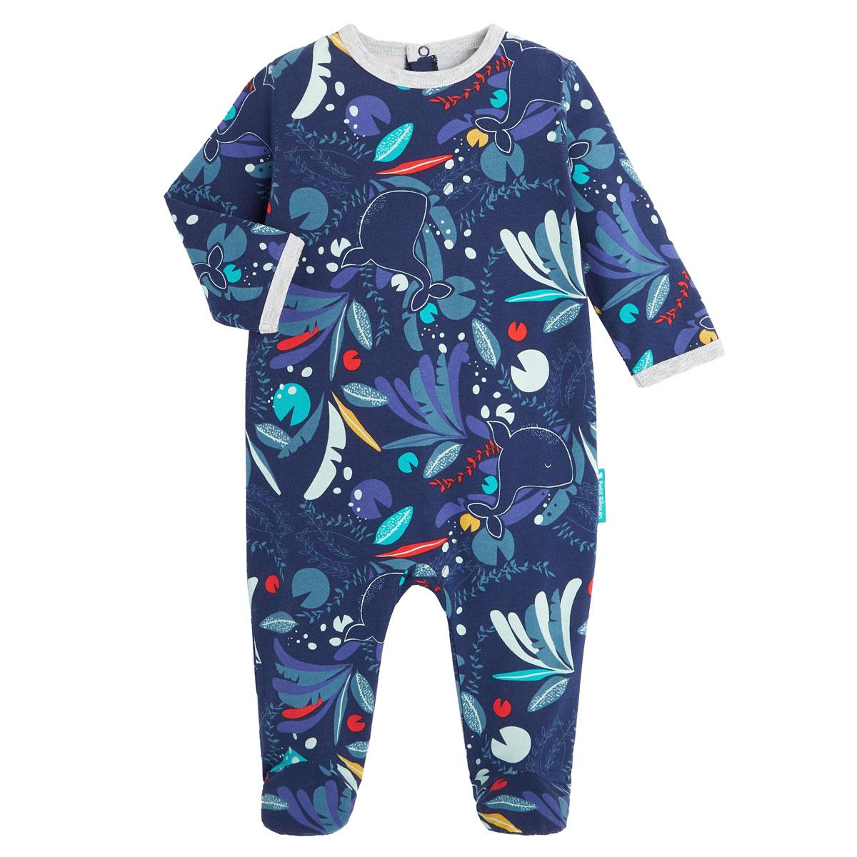 Pyjama bébé contenant du coton bio Sea You