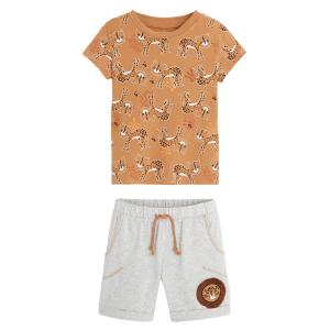 Pyjama garçon manches courtes en coton bio Sanjay
