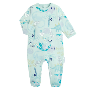 Pyjama bébé contenant du coton bio Dinokoko