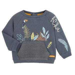 Sweat-shirt garçon contenant du coton gratté bio Aloha Havana