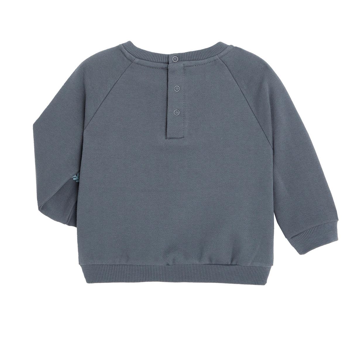 Sweat-shirt garçon contenant du coton gratté bio Aloha Havana dos