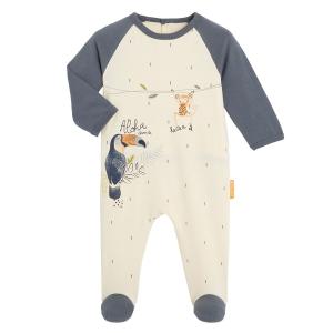Pyjama bébé contenant du coton bio Aloha Havana