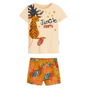 Pyjama garçon manches courtes en coton bio Emeric