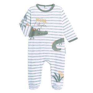 Pyjama bébé contenant du coton bio Hector