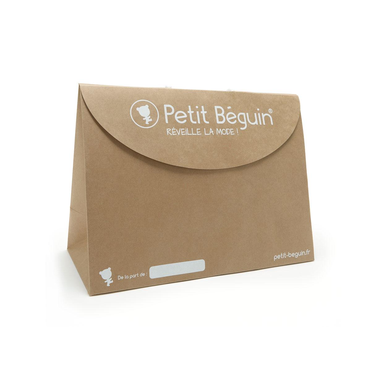 Boîte cadeau kraft petit format face