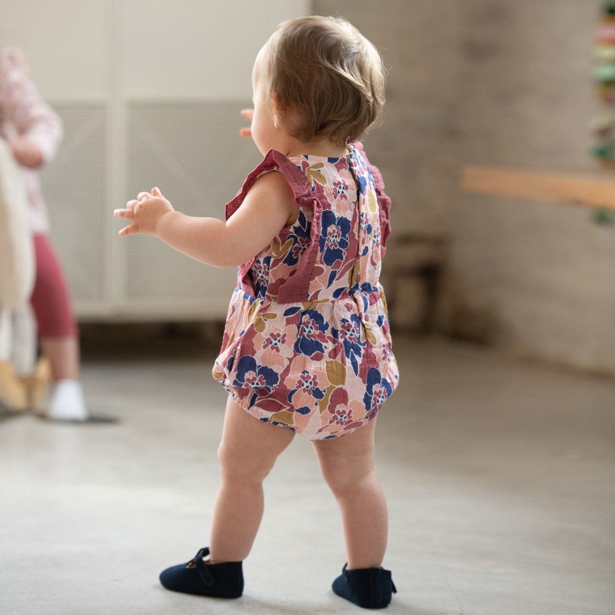 Barboteuse bébé fille Dolce Farniente au porté dos