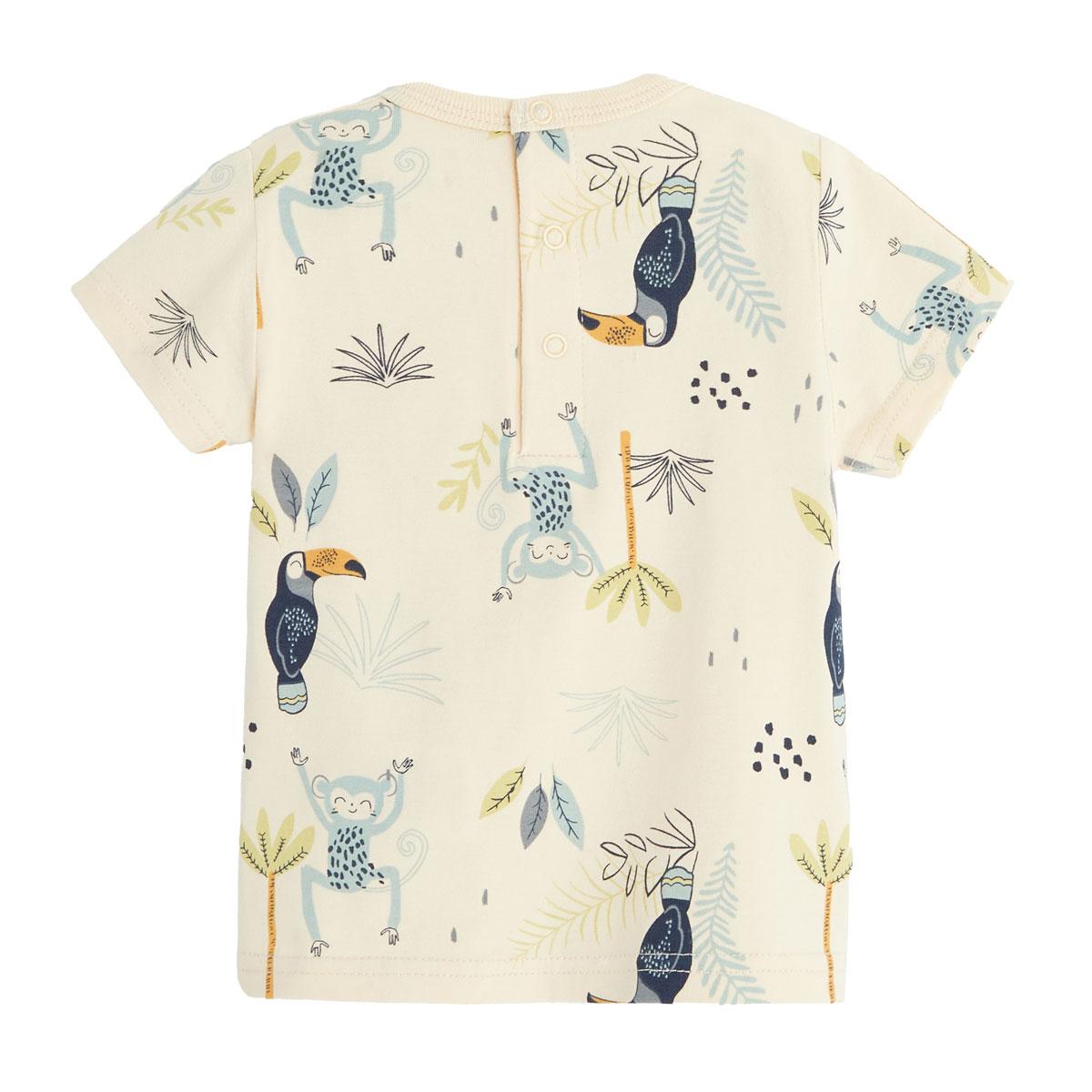 Salopette bébé garçon et t-shirt Aloha Havana dos