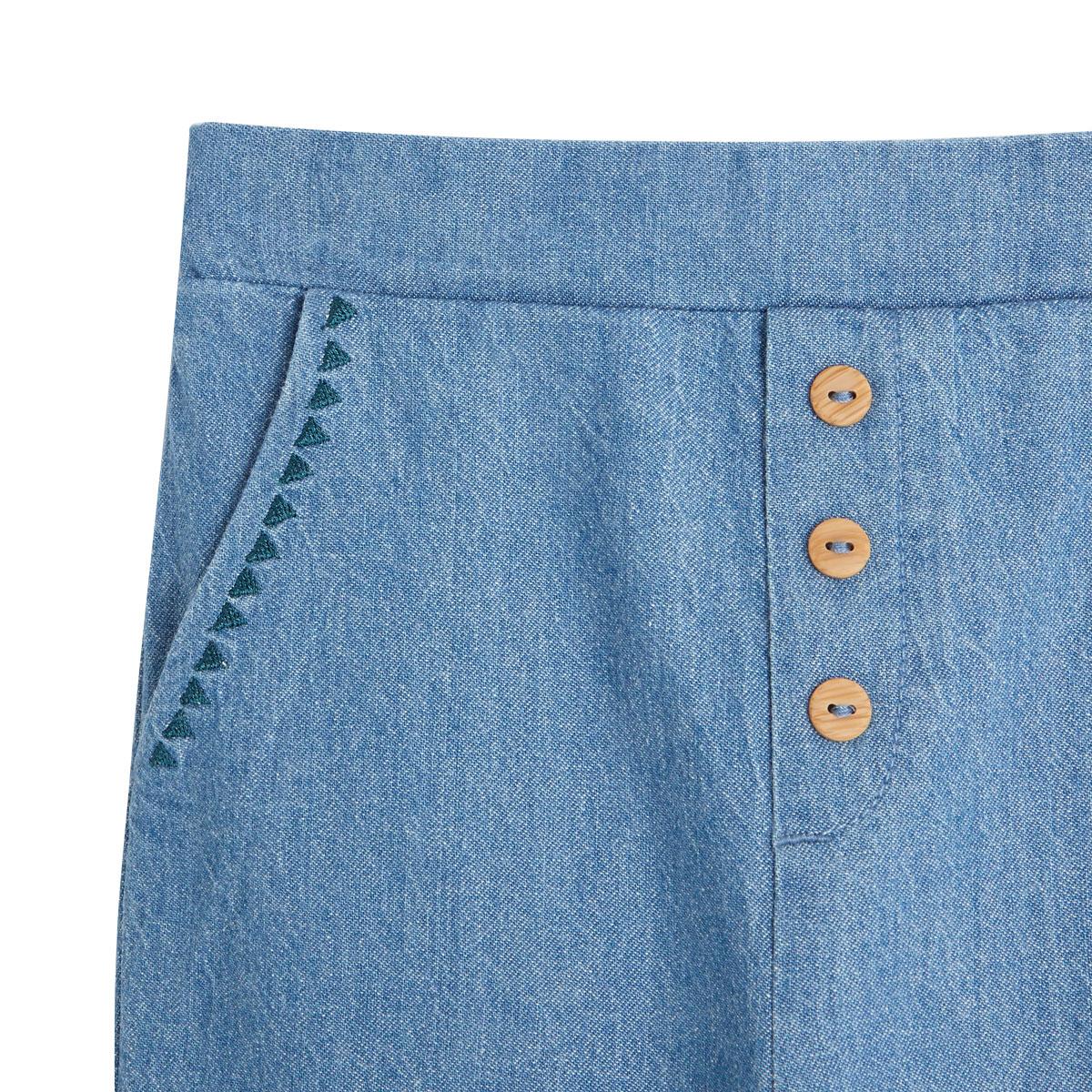 Pantalon bébé fille Blue Coco zoom