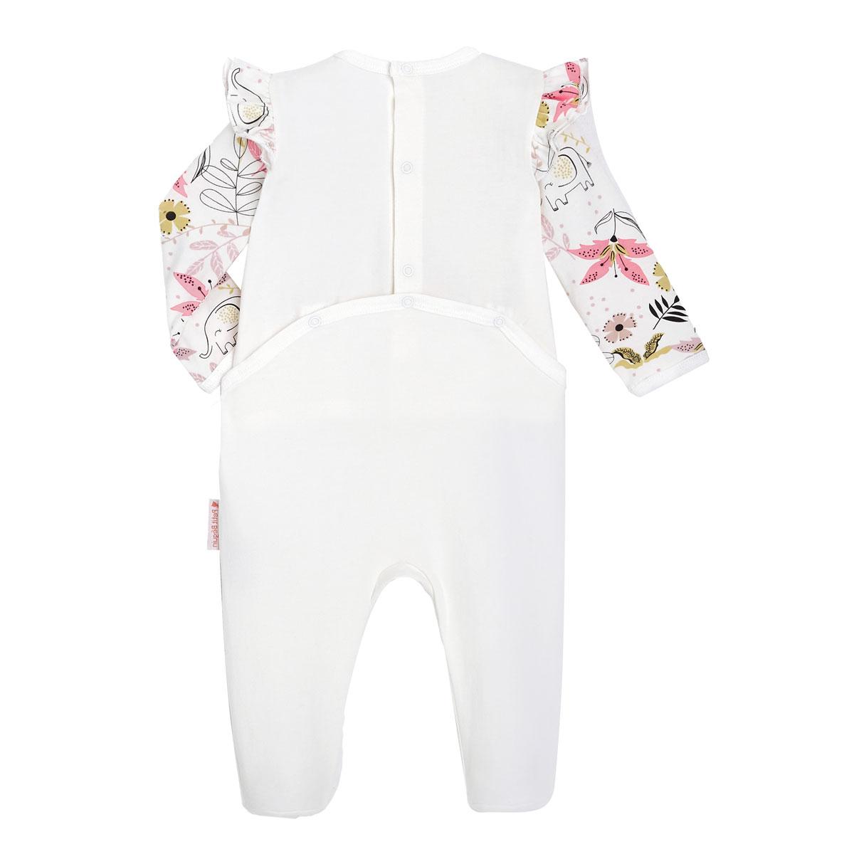 Pyjama bébé contenant du coton bio Singapour dos