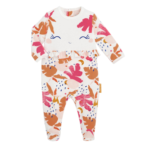 Pyjama bébé contenant du coton bio Perle de Lune